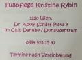 Logo: Fußpflege  Kristina Rybin