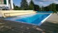 3. Bild / Sonja Zenz Schwimmbad und Infrarotheizung