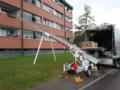 3. Bild / alles RAUS und WEG  Entrümpelung in Vorarlberg mit Möbellift