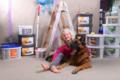 2. Bild / Farben- und Rahmenwelt Iris Kracher