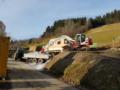 2. Bild / Erdbewegung & Holzschlägerung Hollinger