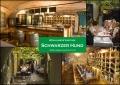 """2. Bild / Restaurant """"Arkadenhof"""" und  Weinlaube """"Schwarzer Hund"""""""